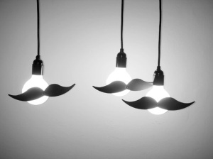 moustache-lights